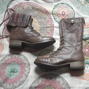 """Steve Madden - """"Parto"""" Lace-Up Combat Boots"""